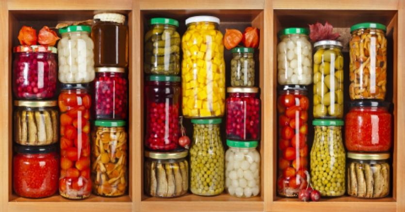 storage of foods