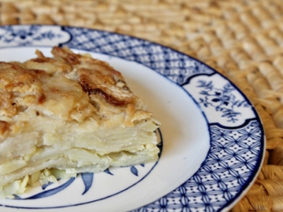 Potato and Turnip Dauphinoise