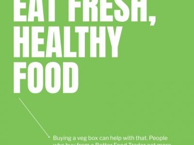 Eat fresh healthy food