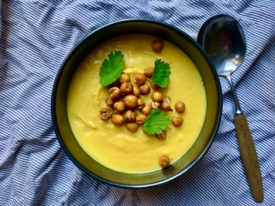 parsnip ginger sweet potato soup