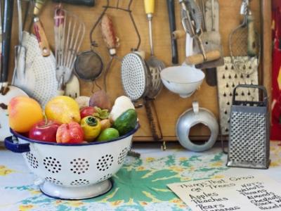 fresh produce kitchen