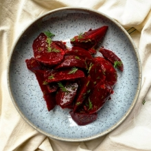 Beetroot with ginger recipe