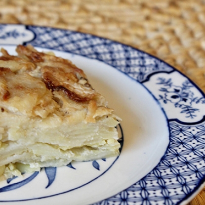 Potato and Turnip Dauphinoise