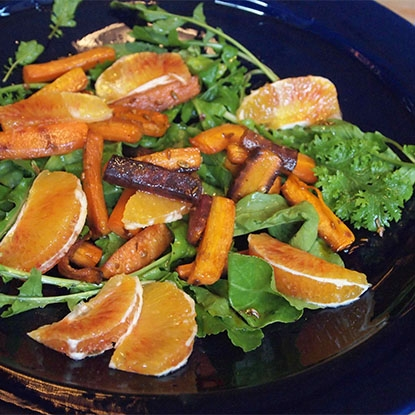 Moroccan Blood Orange & Carrot Salad