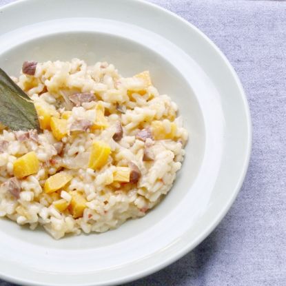 squash risotto recipe crop drop