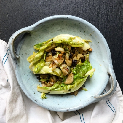 cauliflower leaves recipe