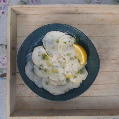 Kohl Rabi Salad