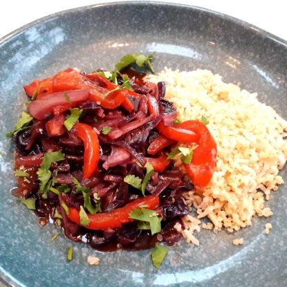 paprika chilli red cabbage