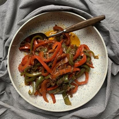 peppers allspice oregano