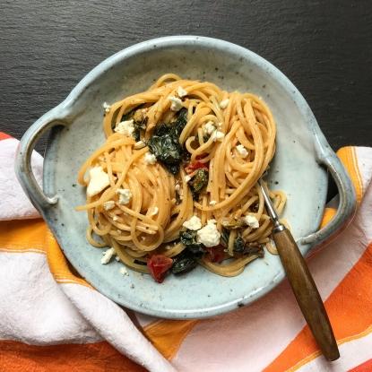 cavelo nero spaghetti