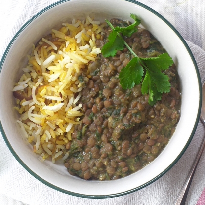 spinach dhal daal